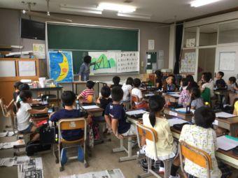 ボランティア活動教室風景
